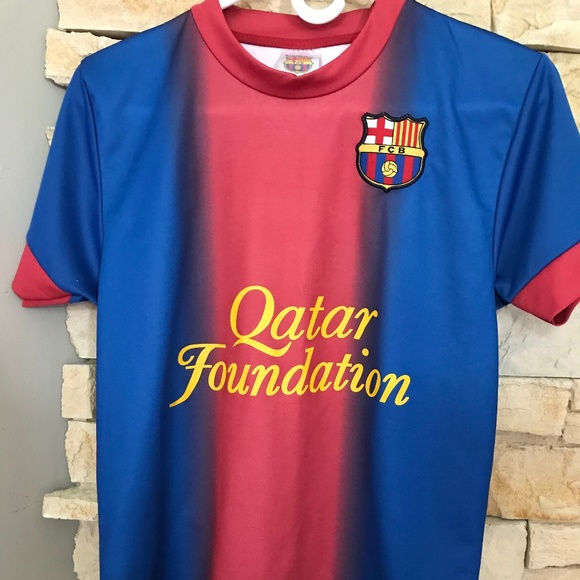 finest selection 41197 aa793 Lionel Messi Qatar Foundation Soccer Jersey
